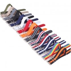 Nylon Nato Strap 24mm Many Colors