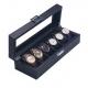 High Quailty Watch Box 6 Slots Carbon Fiber Zweiler