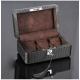 High Quailty Watch Box 3 Slots Carbon Fiber Zweiler Habana