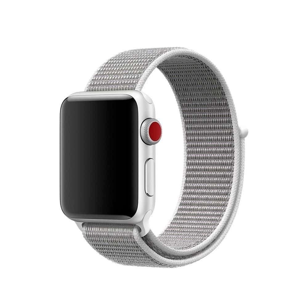 grey Sport Strap Apple Watch 42mm iSloop