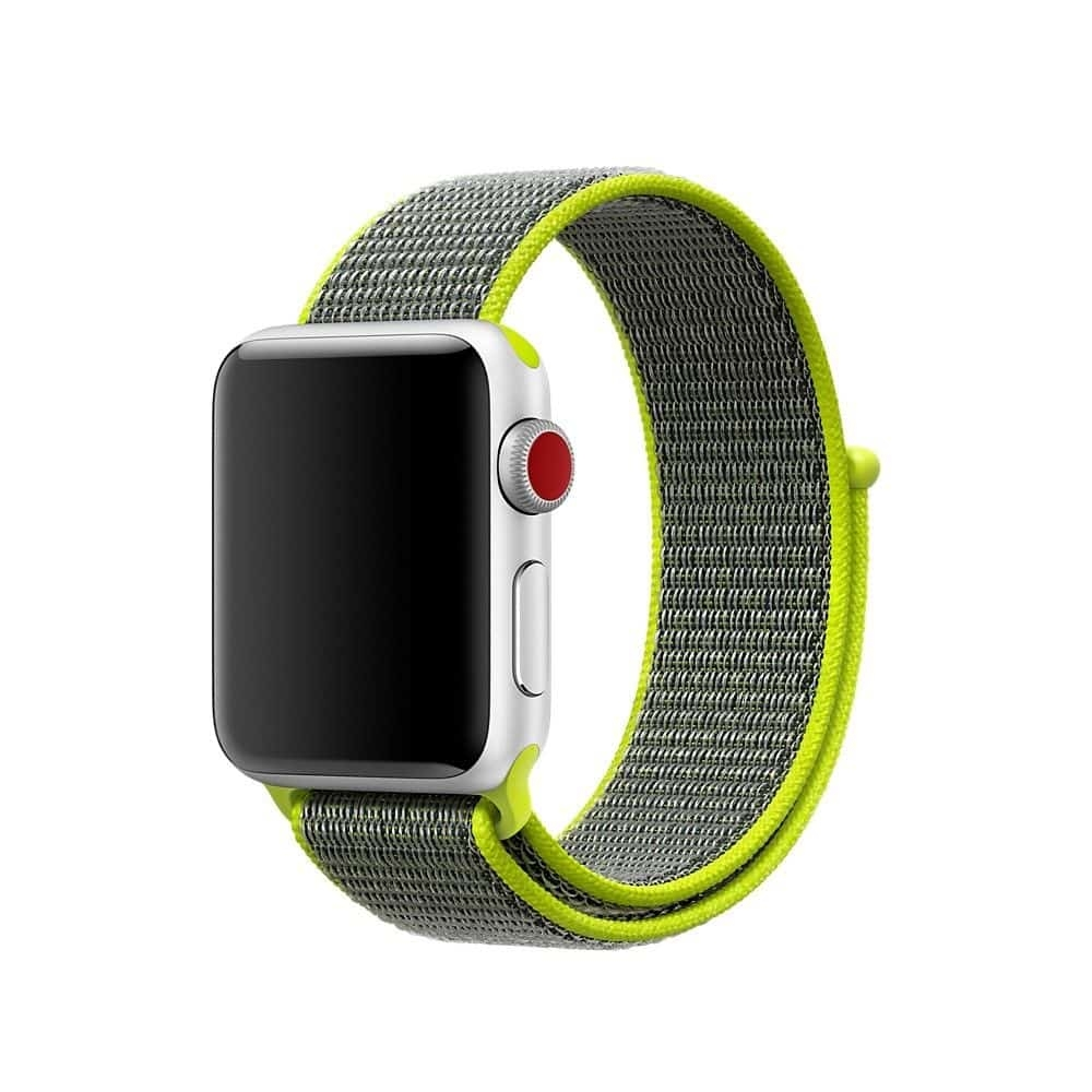 Brazalete Deportivo Apple Watch 38mm iSloop verde