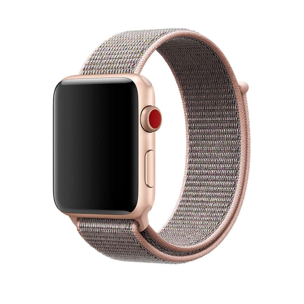 Brazalete Deportivo Apple Watch 42mm iSloo rosa.