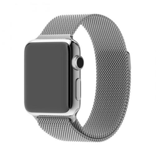 Brazalete Acero Apple Watch 42mm Loop gris