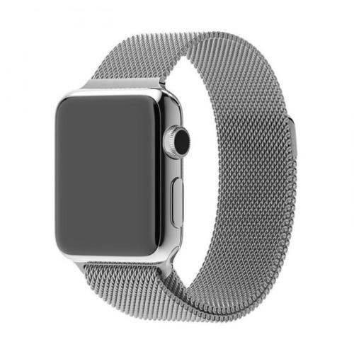 Bracelet Acier Inox Apple Watch 38mm Loop gris