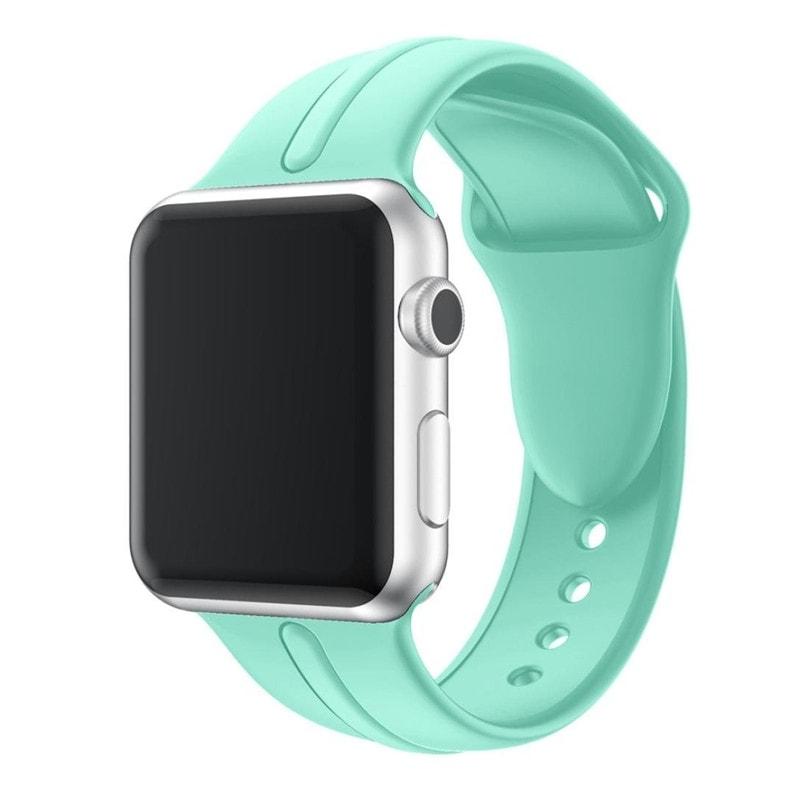 Bracelet Apple Watch Silicone Osmose 38mm Vert clair