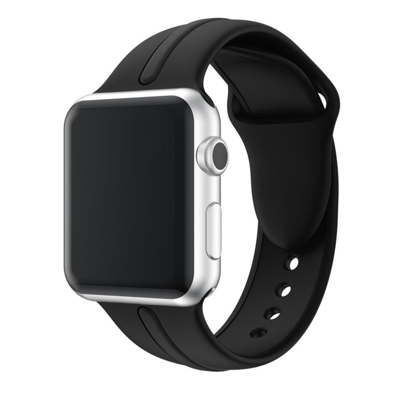 Osmose Silicone Strap for Apple Watch 42mm black