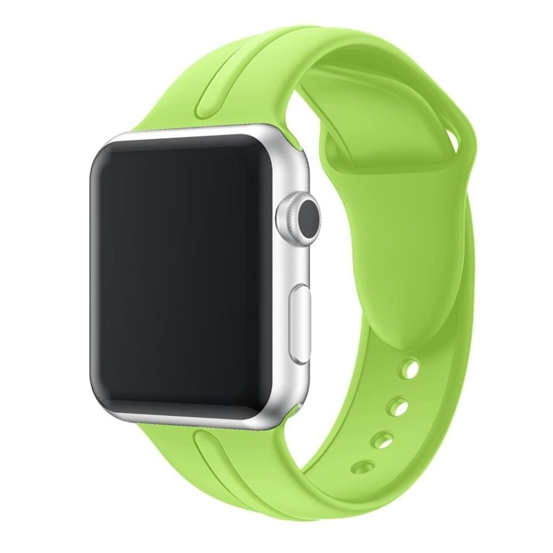 Correa Silicona Apple Watch Osmose 38mm lima