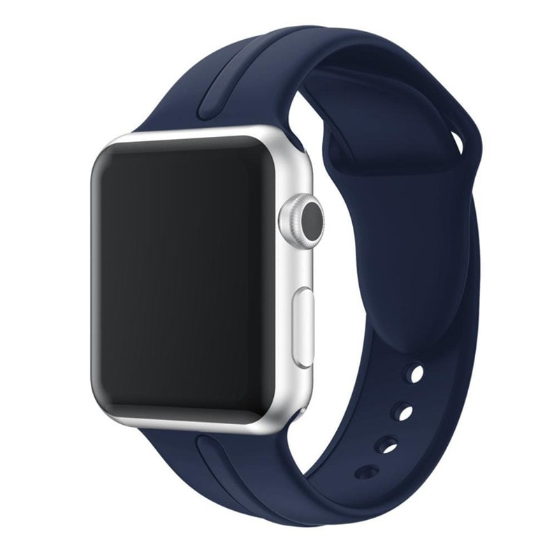 Correa Silicona Apple Watch Osmose 38mm azul marino