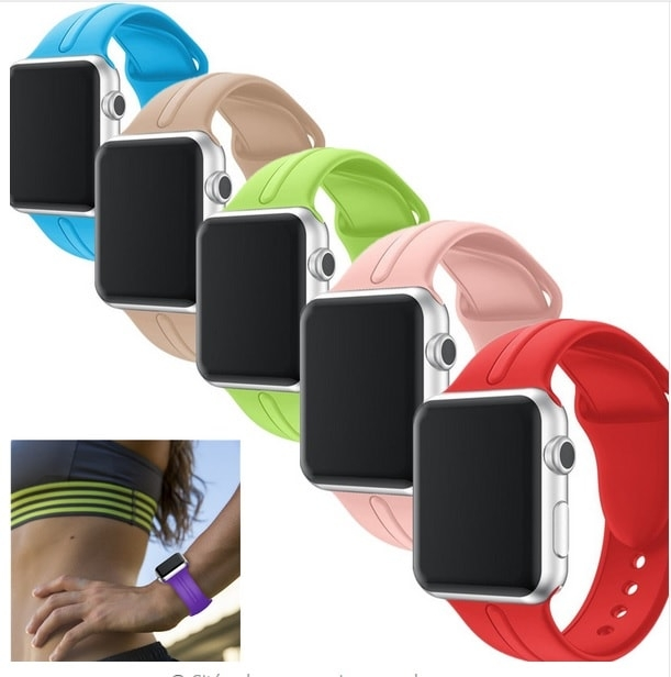 Bracelet Apple Watch Silicone Osmose 38mm.