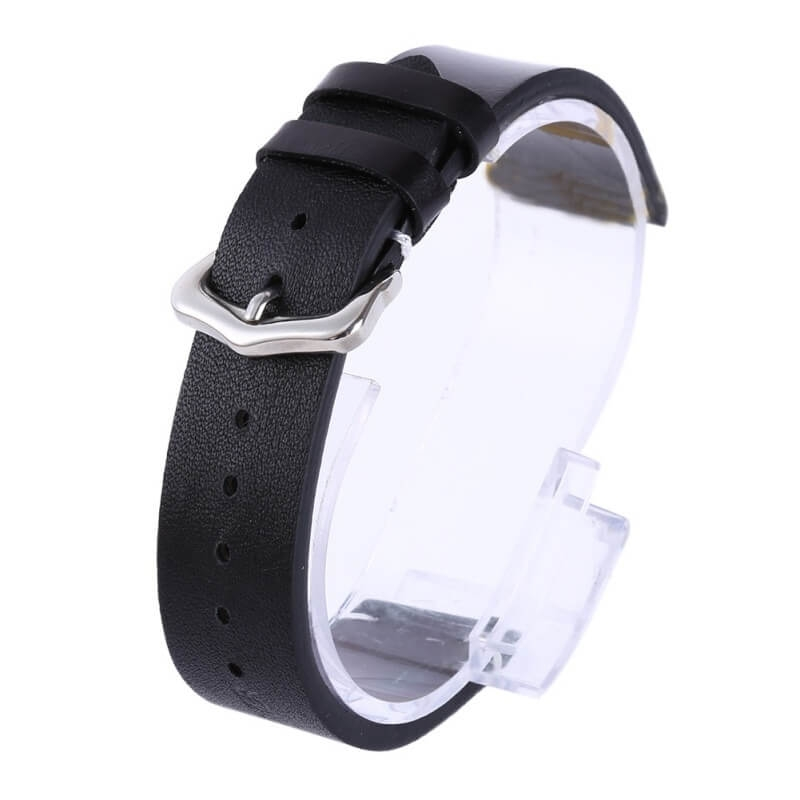 Genuine Leather Strap Exius Black