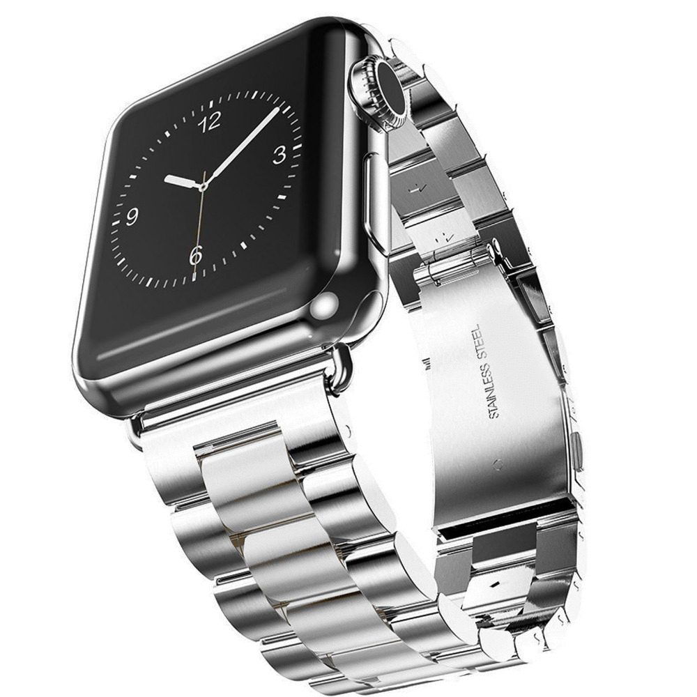 Bracelet Apple Watch Acier Inox 42mm.