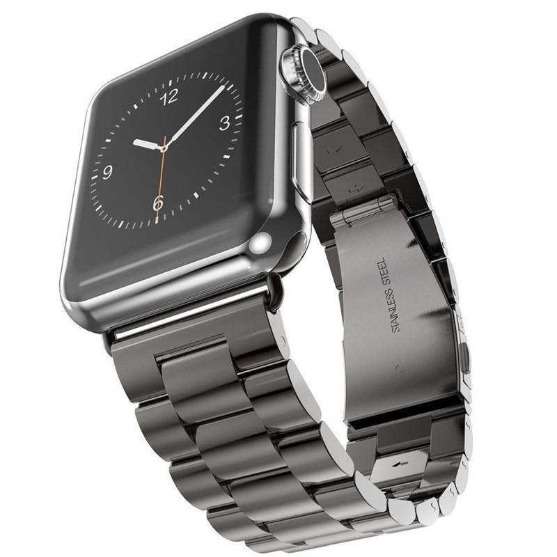 Brazalete Acero inoxidable Apple Watch 42mm Negro.