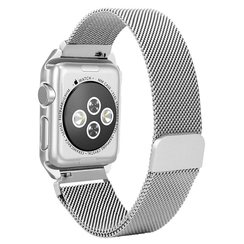 Milanesa Mesh Apple Watch 42mm Caja Protectora.