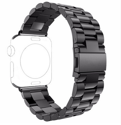 Brazalete Acero inoxidable Apple Watch 42mm Negro.