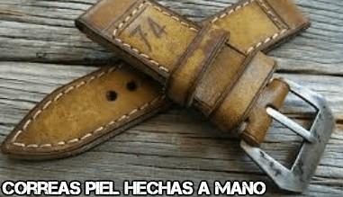 Correa Cuero Vintage hechas a manos