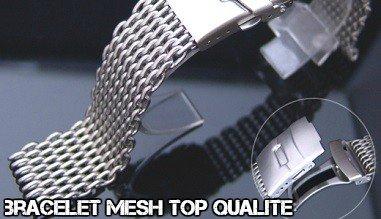 Bracelet diver Mesh pour montre plongée